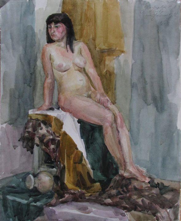 Nude - Kateyna Bortsova