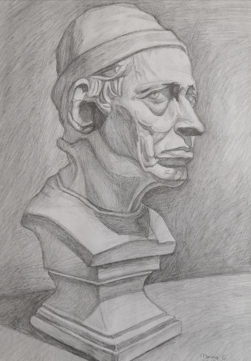 Old Man Thinking - Marina C