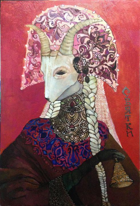 Yule goat - zelinska