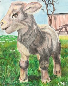 Lamb - Chrissy K's Paintings