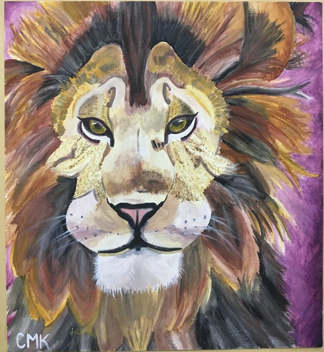 Pride of the Lion - Chrissy K's Paintings