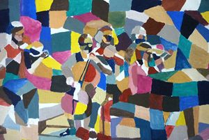 Series of Musicians nº3 - Artwork by the Artist Inaki Crespo