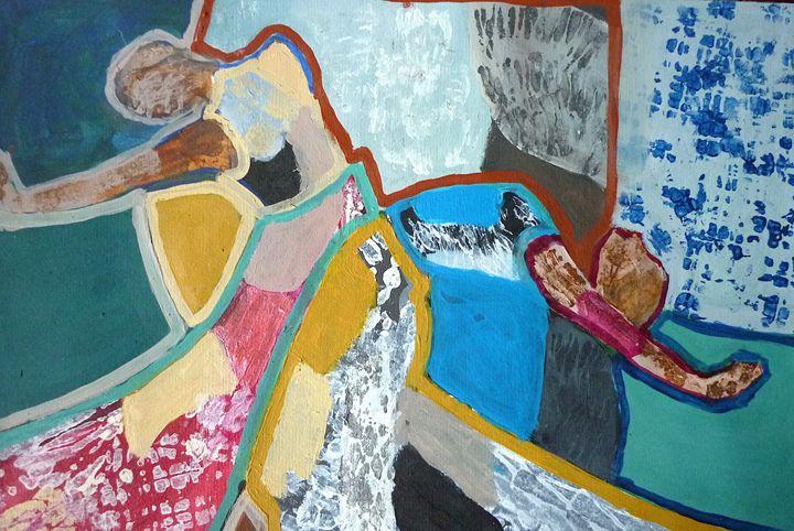 Flamenco - Artwork by the Artist Inaki Crespo