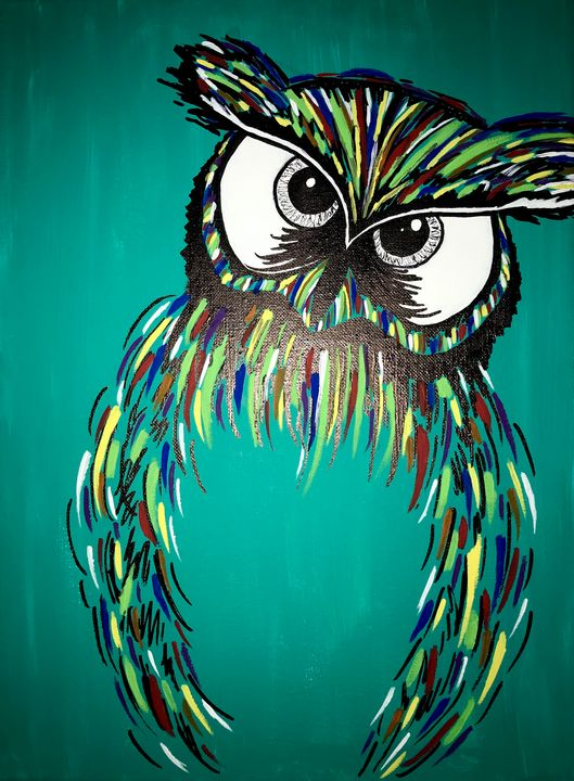 Colorful Owl - Morgan Evans