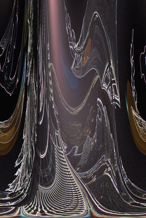 Softly Lit Curtain Veil - Gregory Patrick Lafferty