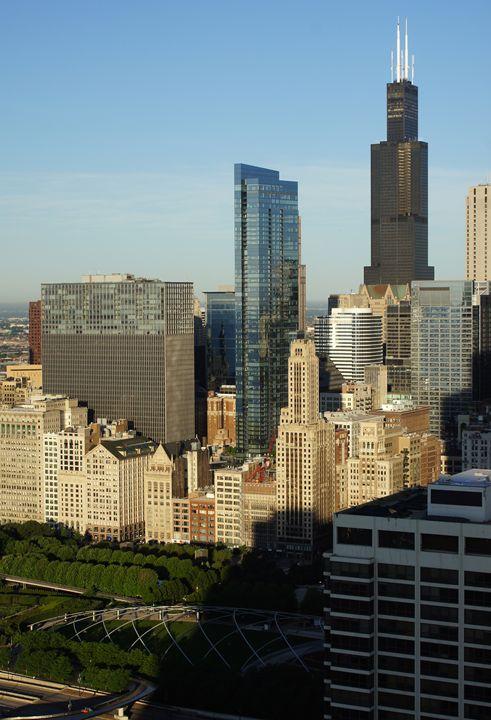 Vertical Chicago Series (nine) - Gregory Patrick Lafferty