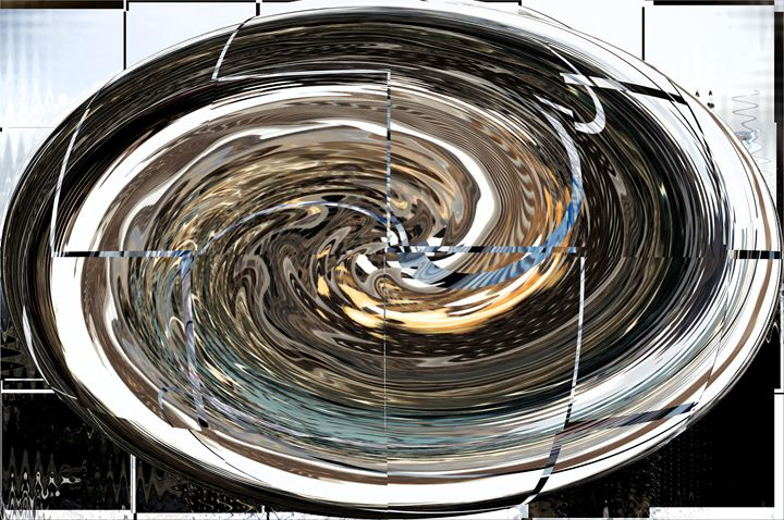 Gold And Aquamarine Faberge Egg - Gregory Patrick Lafferty