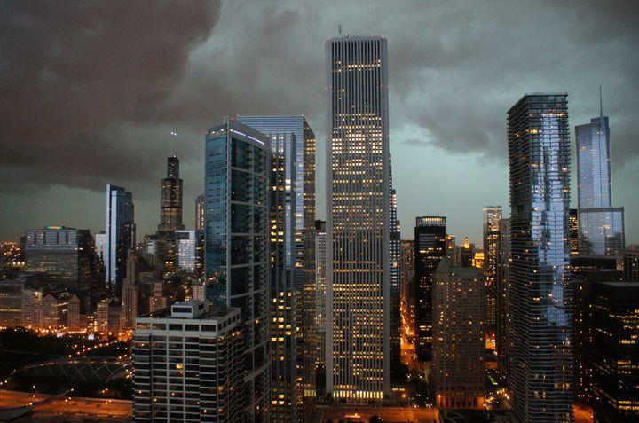 Darkened Summer City Skies - Gregory Patrick Lafferty