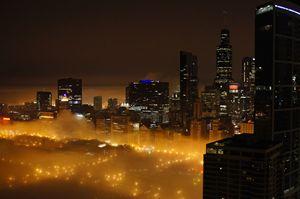 Misty Cityfront