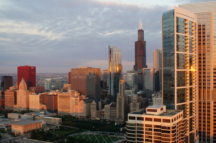 Chicago Morning Colors - Gregory Patrick Lafferty