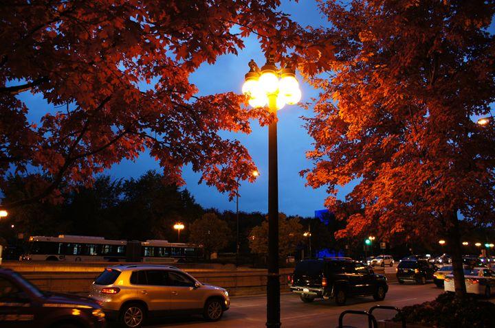 Driving Michigan Avenue - Gregory Patrick Lafferty