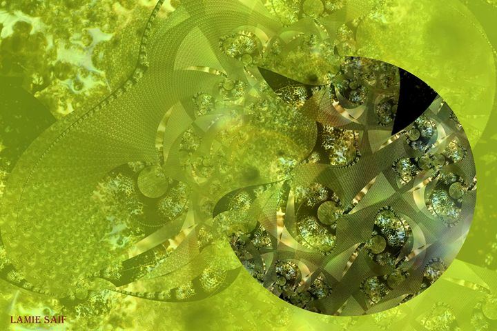 Metallic Sphere 03 - L. S. Digi-Art