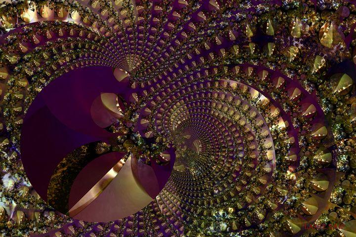 Metallic Purple Mesh - L. S. Digi-Art