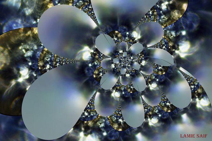 Metal Flower - L. S. Digi-Art