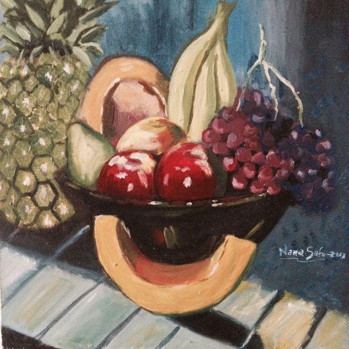 """Bowl of Fruits"" - fale Fale feemor"