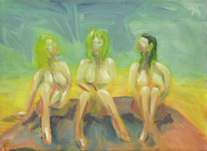 3 GRACES ON THE BEACH - Steve B Robinson
