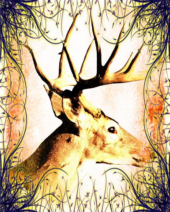 White-tailed Buck - Animart