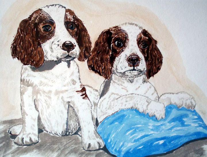 Two Pups - Animart