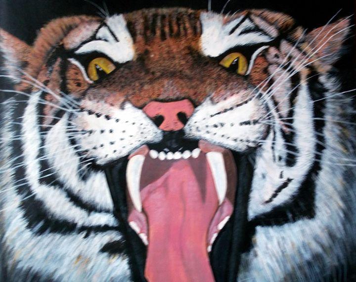 Angry Tiger - Animart