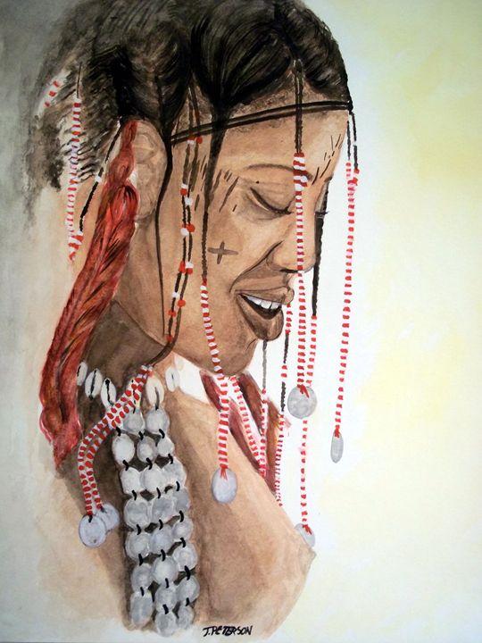 Janjubi Tribal Indian - Animart