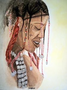 Janjubi Tribal Indian