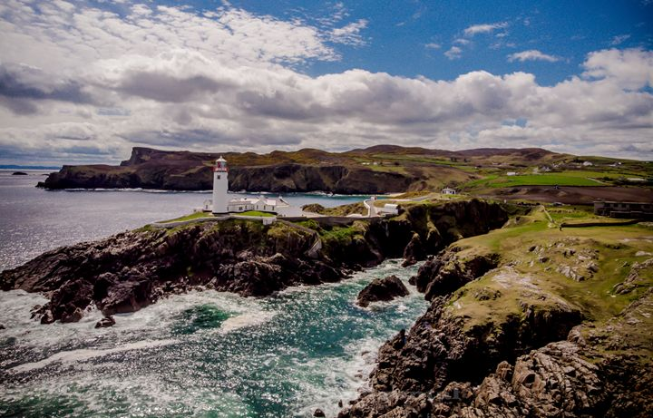 Fanad Lighthouse Donegal - Ireland - Vertical Horizontal Photography