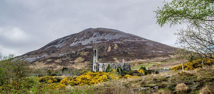 Irish Church Ruins - Vertical Horizontal Photography