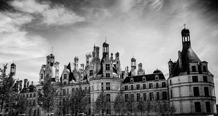 Chambord - Vertical Horizontal Photography
