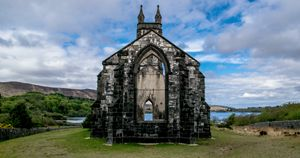 Church Ruins in Donegal