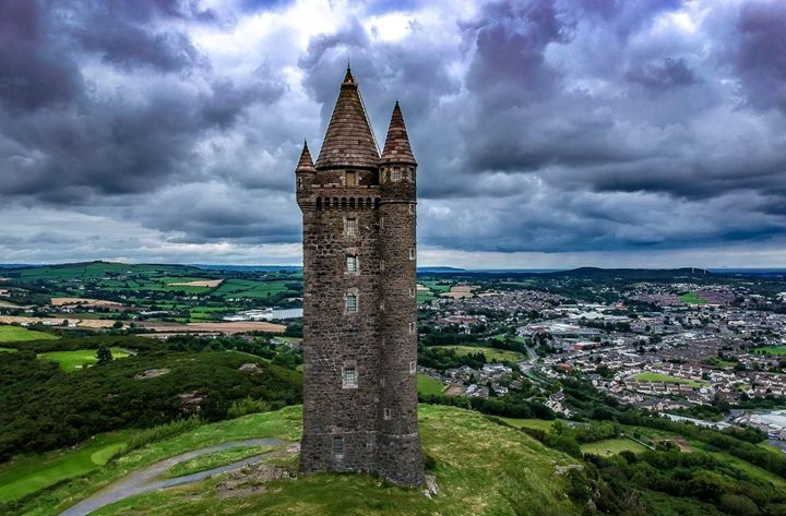 Scrabo Town County Down - Vertical Horizontal Photography