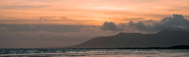 Mourne Sunset - Vertical Horizontal Photography