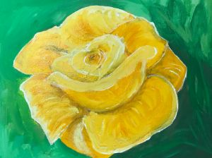 Yellow roses - Levy art