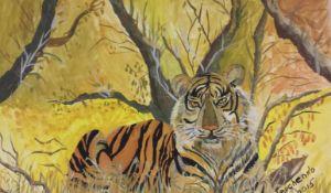 Tiger wild nature