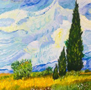 Landscape painting - Levy art