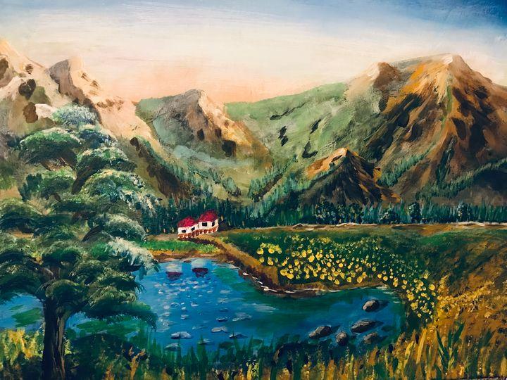 Picture landscape - Levy art
