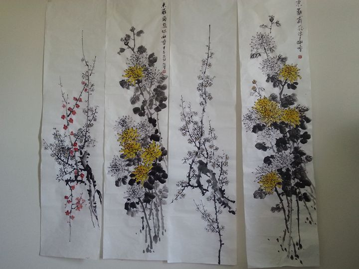 Sample painting - Asian paintings