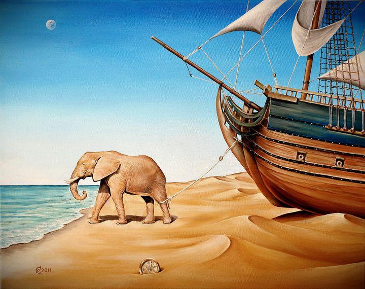 LOST DIRECTION - Stoyanov Fine Art