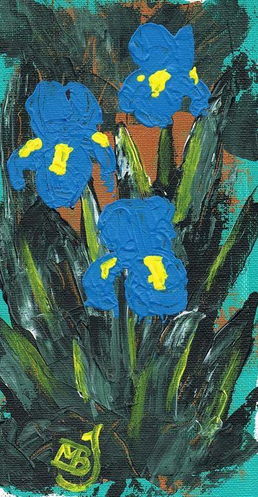 Blue Iris - mbj-designs