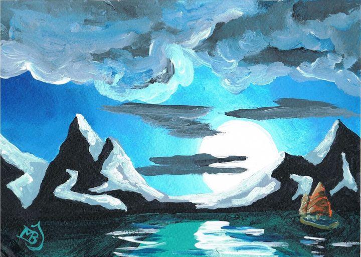 Night Time Sailing - mbj-designs