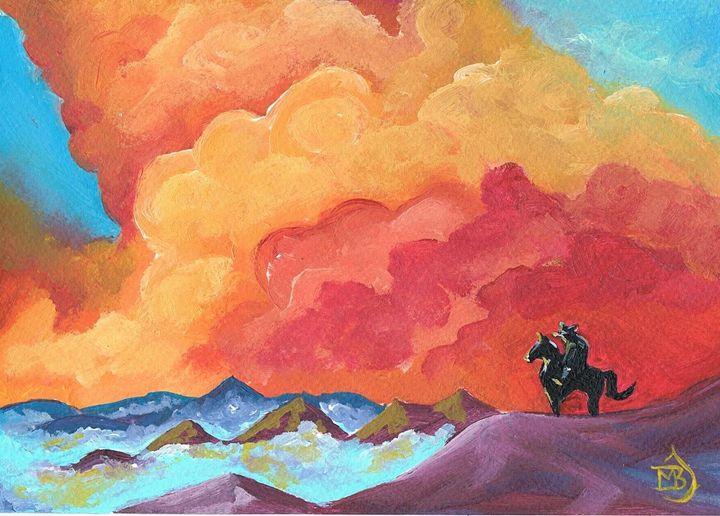 The Horseman - mbj-designs