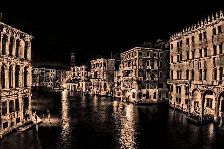 Venice at Night - MattNaiden Art