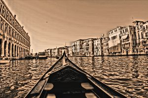 Venice Gondola Point-of-View