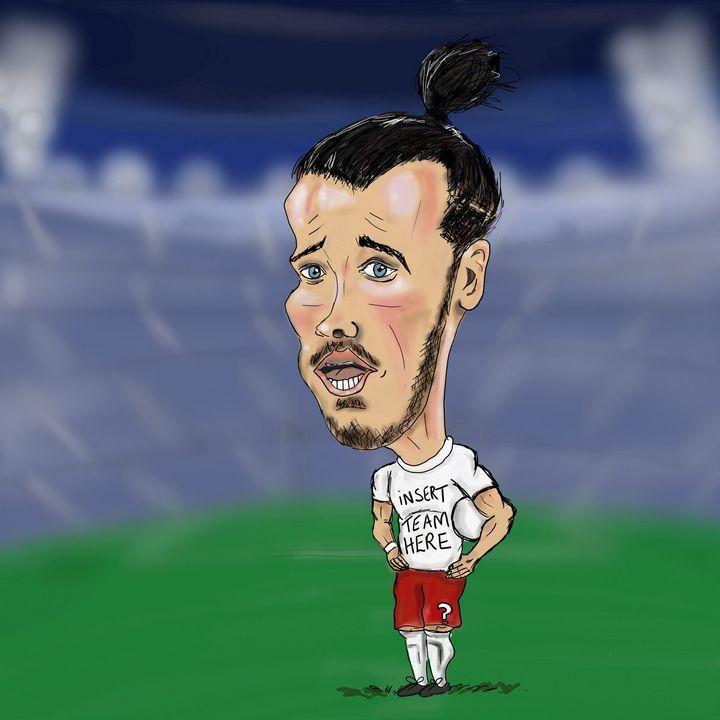 Gareth Bale - BigHeadedArt