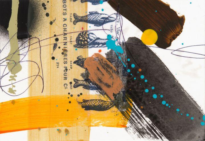 Yellow Dot Fish - Tim Diviny