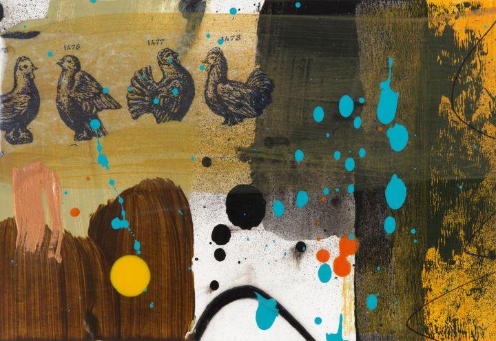 Yellow Dot Fowl - Tim Diviny