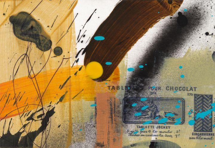 Yellow Dot Jockey - Tim Diviny