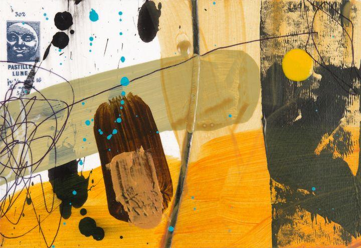 Yellow Dot Lunar 1 - Tim Diviny