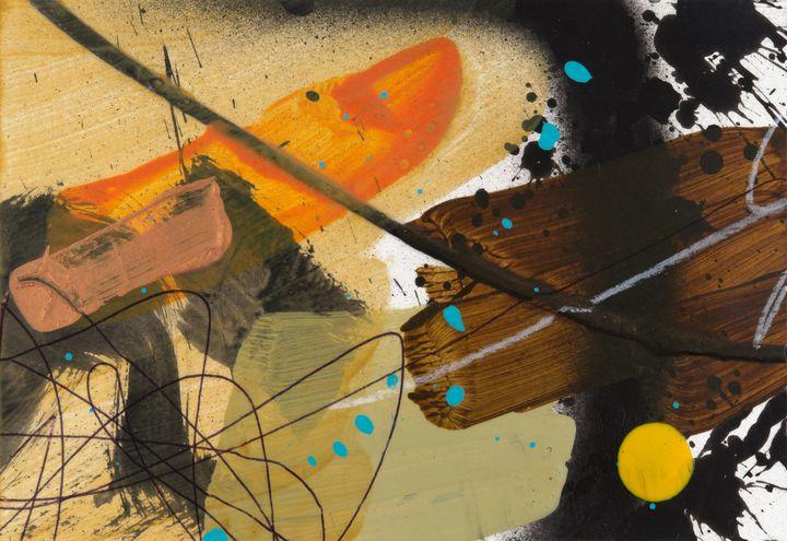 Yellow Dot No Rococo - Tim Diviny