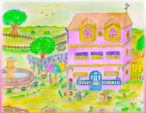 Pink Home and Garden