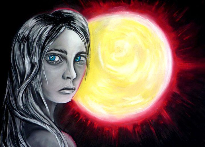 Sun Woman - Art by Dana